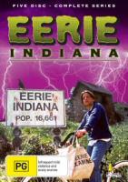 Eerie Indiana Complete Series Umbrella Entertainment Region 4 DVD Cover Art