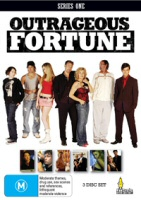 Outrageous Fortune Series One Umbrella Entertainment Region 4 DVD Cover Art