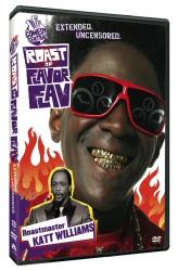 Roast of Flavor Flav DVD cover art