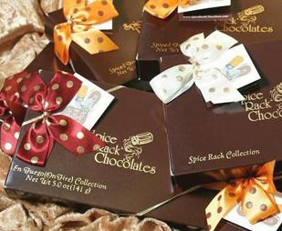 Spice Rack Chocolates logo