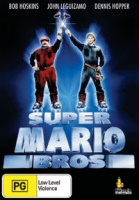 Super Mario Bros Umbrella Entertainment Region 4 DVD Cover Art