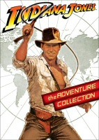 The Indiana Jones Adventure Collection DVD cover art