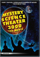 Mystery Science Theater 3000 The Movie DVD Cover Art