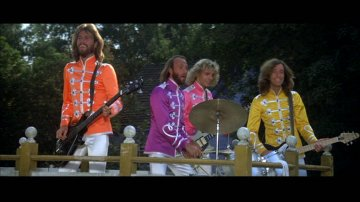 Peter Frampton and The Bee Gees from Sgt. Pepper's Lonely Hearts Club Band