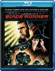 Blade Runner 5-disc Blu-Ray cover art