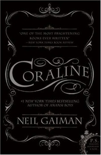 Coraline book cover art
