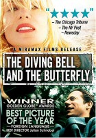 The Diving Bell and the Butterfly DVD Cover Art