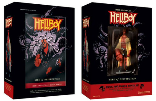 Hellboy Book and Figure set from Dark Horse