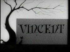 Title card from Vincent