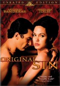 Original Sin DVD cover art