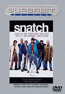 Snatch: Superbit Deluxe DVD cover art