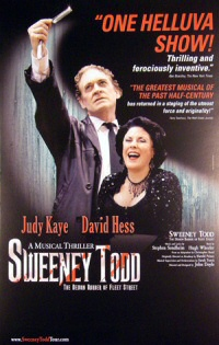 Sweeney Todd Tour poster