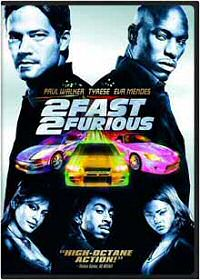 2 Fast 2 Furious DVD cover art
