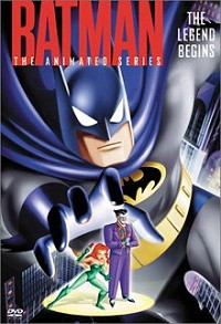 Batman: The Legend Begins DVD cover art