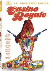 Casino Royale 40th Anniversary DVD cover art