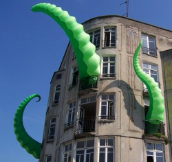 Inflatable Tentacles