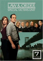 Law & Order SVU Season 7 DVD Cover Art