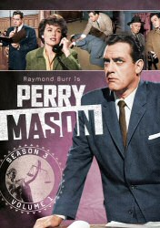 Perry Mason Season 3 Vol. 1 DVD Cover Art