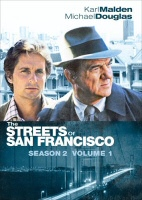 The Streets of San Francisco Season 2 Volume 1 DVD Cover Art