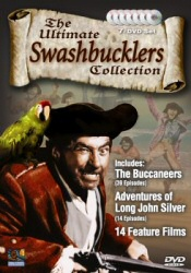 Swashbucklers Collection from Mill Creek Entertainment DVD Cover Art