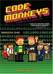 Code Monkeys Season One DVD Cover Art