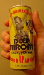 Deep Throat Energy Drink