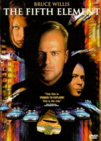 The Fifth Element dvd cover