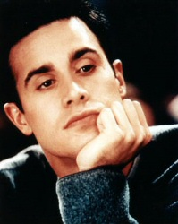 Freddie Prinze Jr., thinking thoughts of wrestling