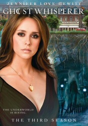 Ghost Whisperer: Third Season DVD cover art