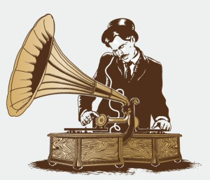 Gramophone Turntablist from Threadless