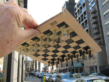 New Wave Chess upside down
