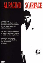Scarface DVD cover art