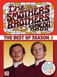 Smothers Brothers Comedy Hour Best of Season 3 DVD Cover Art