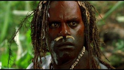 William Takaku as Man Friday in Robinson Crusoe