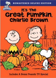 It's the Great Pumpkin, Charlie Brown DVD cover art