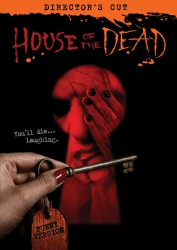 House of the Dead funny version DVD cover art