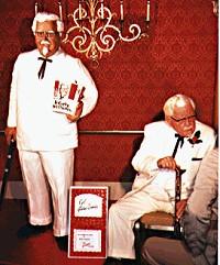 KFC Colonel Sanders life-size cake