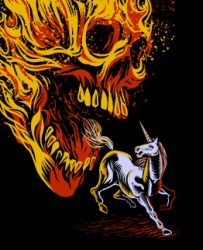 The Last F-ckin Unicorn from Threadless