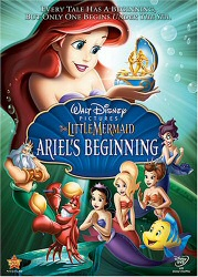 The Little Mermaid: Ariel's Beginning DVD cover art