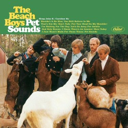 Beach Boys: Pet Sounds vinyl cover art
