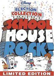 Schoolhouse Rock: Election Collection DVD cover art