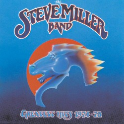 Steve Miller Band: Greatest Hits vinyl cover art