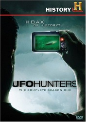UFO Hunters: The Complete Season One DVD cover art