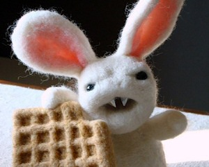 My New Best Friend the Waffle Bunny