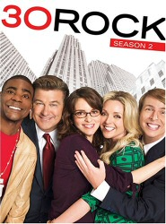 30 Rock: Season 2 DVD cover art