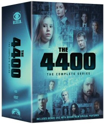 The 4400: The Complete Series DVD cover art