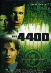 The 4400: The Complete First Season DVD cover art