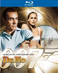 Dr. No Blu-Ray cover art