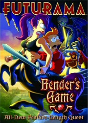 Futurama: Bender's Game DVD cover art