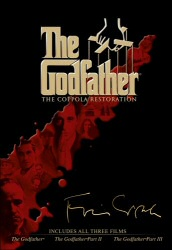 The Godfather: The Coppolla Restoration DVD cover art